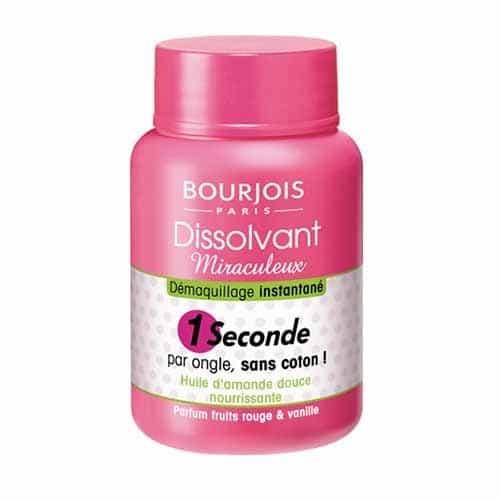 Bain dissolvant Bourgeois pour manucure