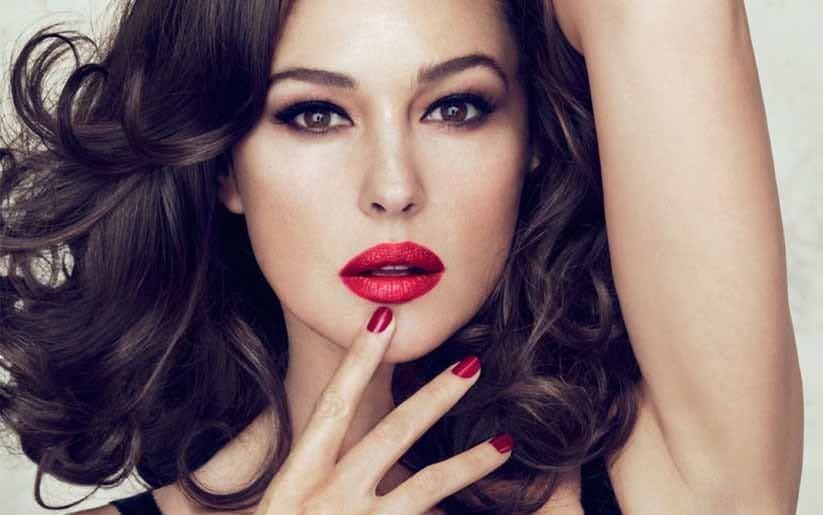 Monica bellucci maquillage Dior