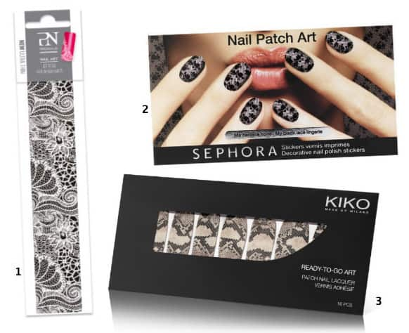 Patch nail art pour les nulles