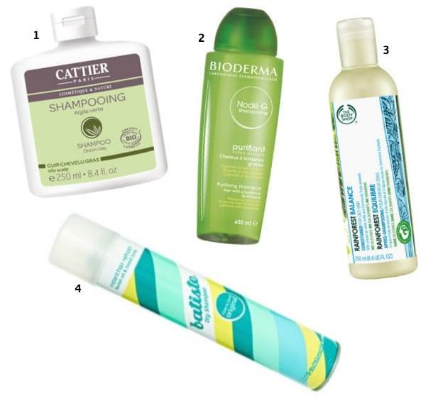 Un shampoing pour cheveux gras