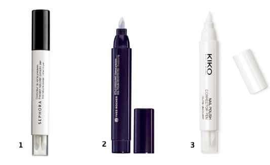les stylos dissolvant pour parfaire sa manucure