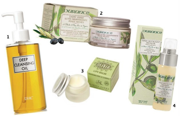 Produits visage: les bienfaits de l'huile d'olive