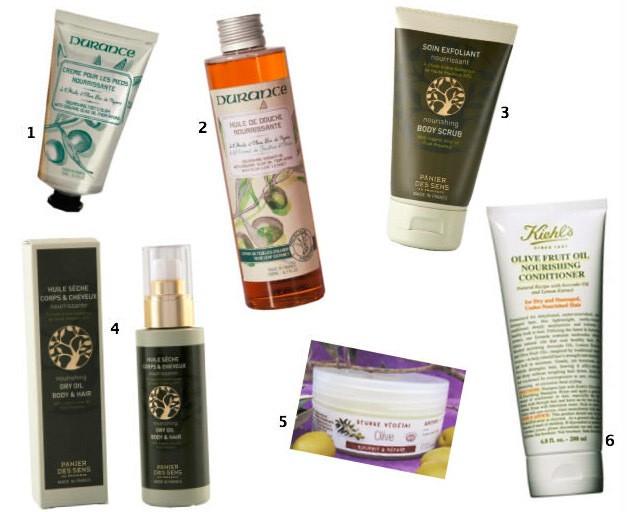 Produits corps: Les bienfaits de l'huile d'olive
