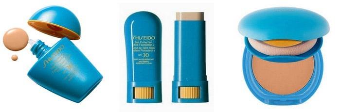Fonde de teint waterproof : gamme Shisheido