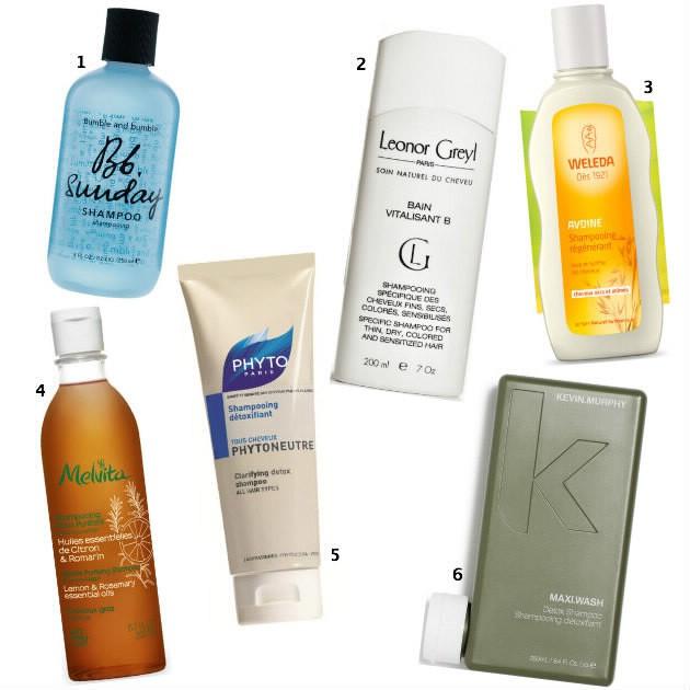 low-poo pour cheveux secs