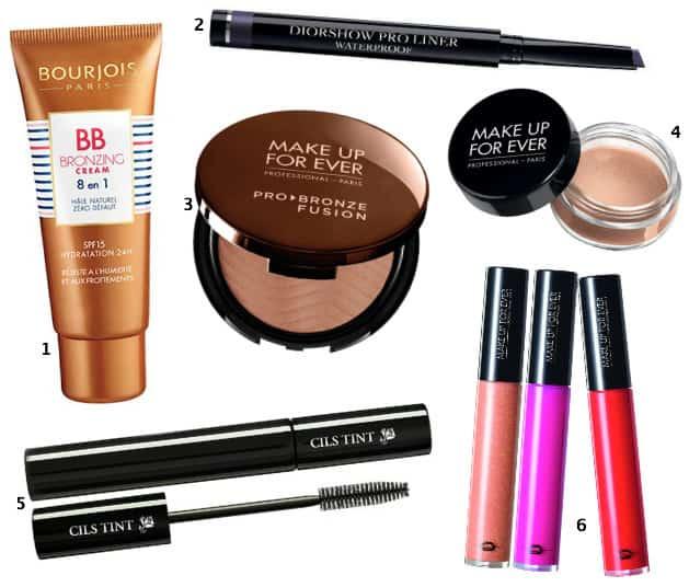 Maquillage de la routine du matin