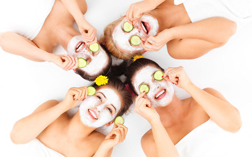 Masque visage des cosmétiques maison