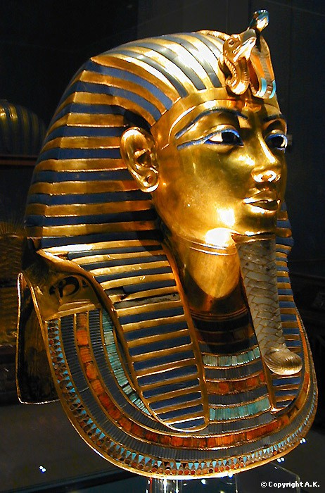 Toutankhamon masque or pur