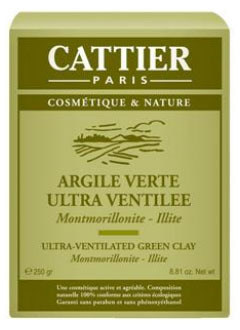produits detox l'argile verte