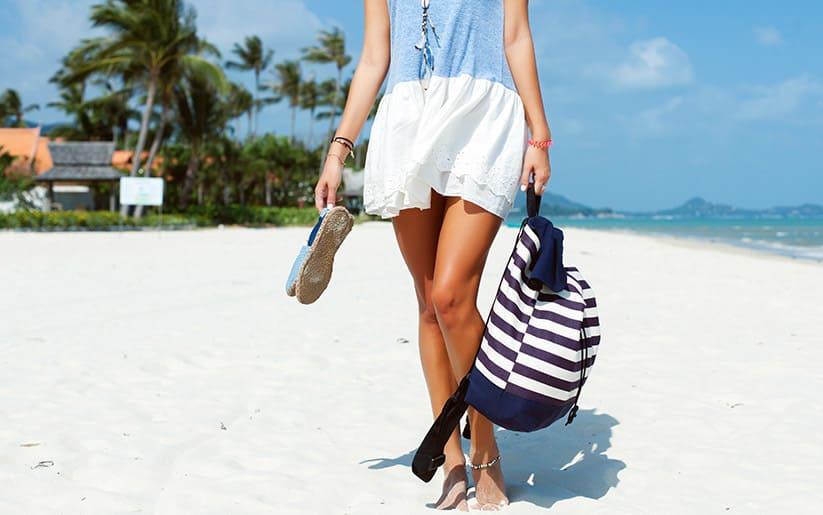 Quoi mettre dans son sac de plage?
