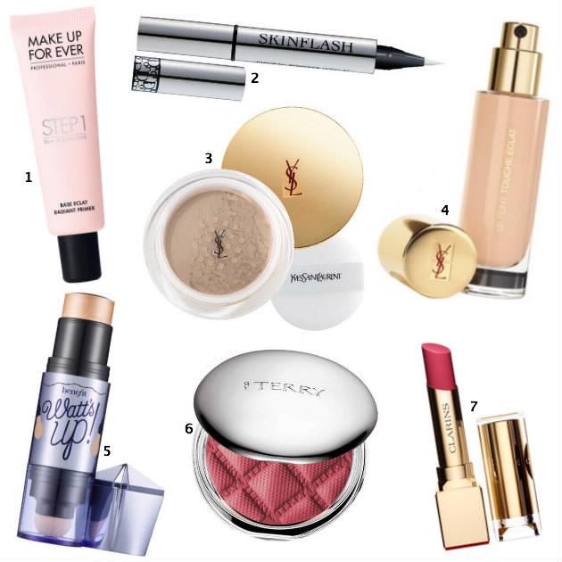 teint lumineux: maquillage coup d'éclat