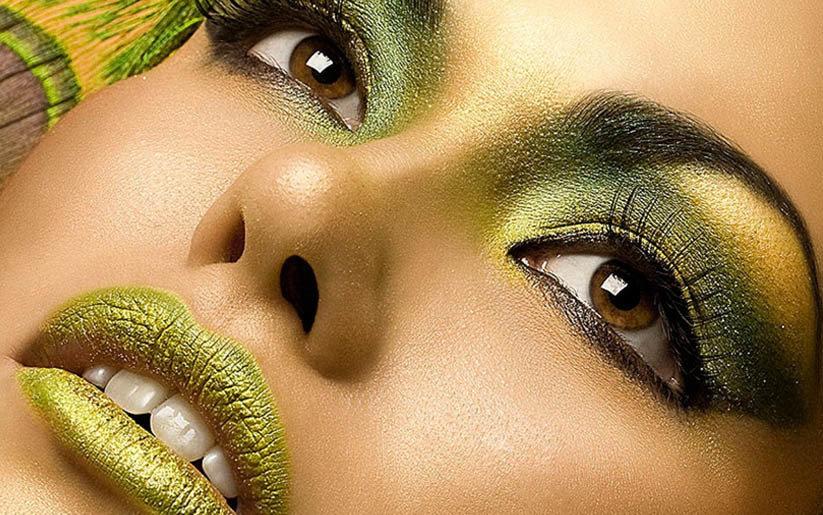La Beauté en vert