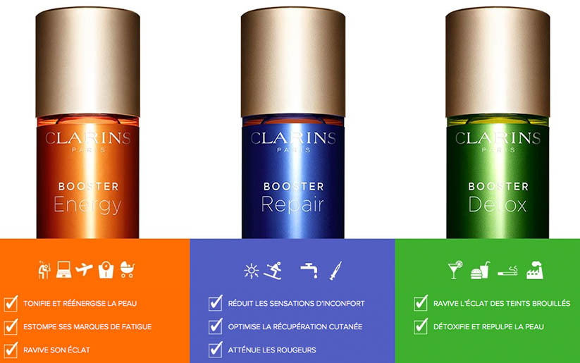 Boosters Clarins