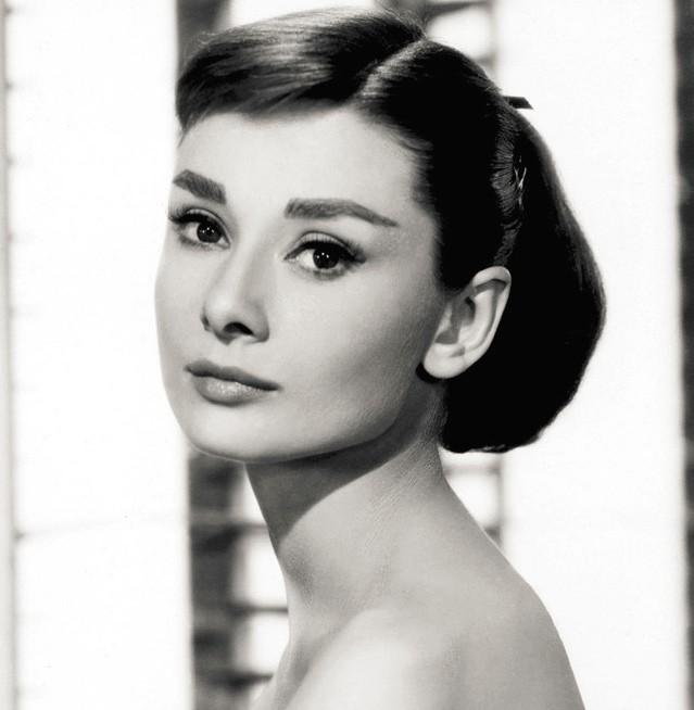 copie du regard d'Audrey Hepburn