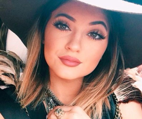 Copie des lèvres de Kylie jenner