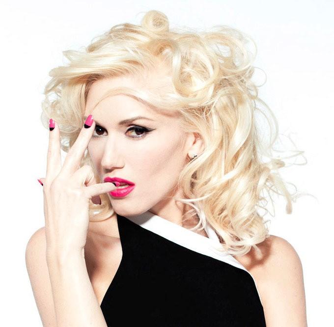 Copie de la manucure de Gwen Stefani
