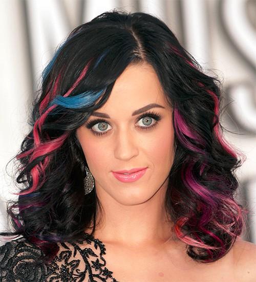 copie des mèches de Katy Perry