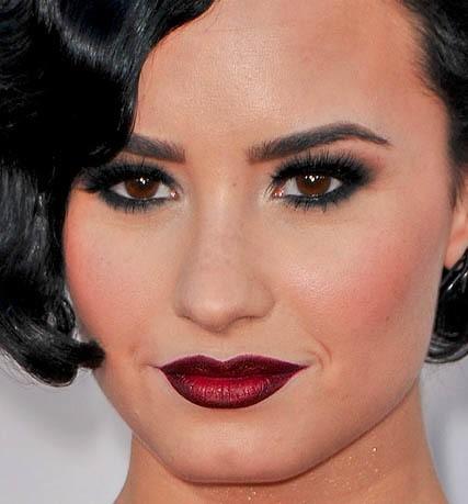 Ombré lips de Demi Lovato