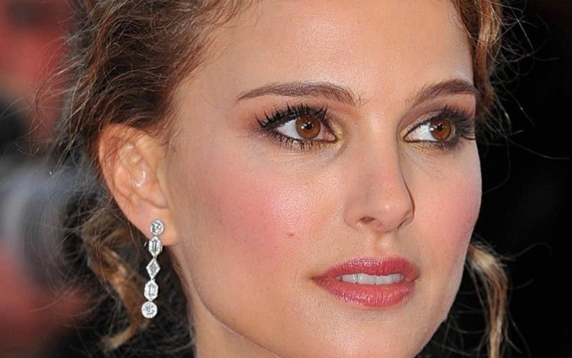 Nathalie Portman, maquillage d'hiver