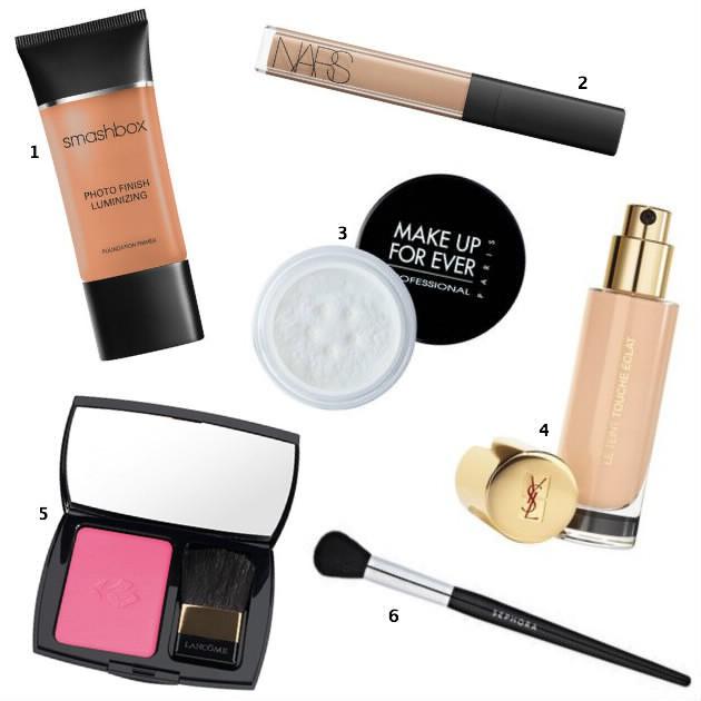 Maquillage du teint de Nathalie Portman