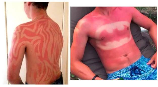 Le tatoo sun attention danger