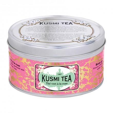 Thé vert Kusmi Tea à la rose