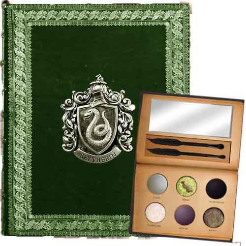 Maquillage harry Potter, maison des Serpentards