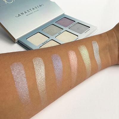 Glow Kit Moonchild, test sur la peau des différentes couleurs