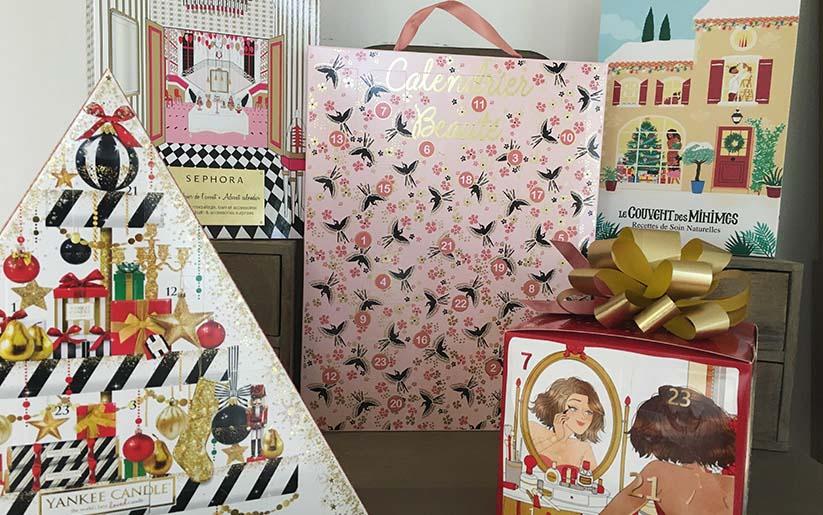 Selections des calendriers de l'avent Beauté de La Loge beauté