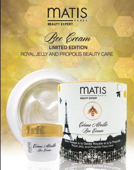 le coffret beauté de Noël contient crème abeille Matis