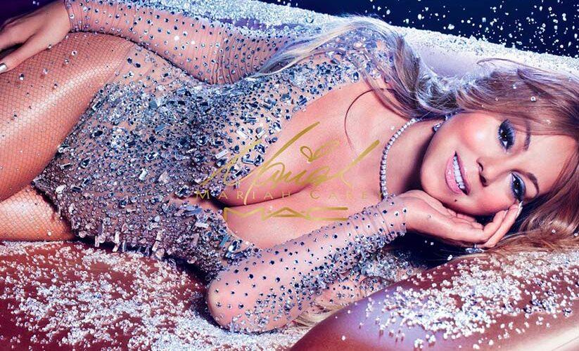 Mac & Mariah carey collabore pour une gamme maquillage qui brille