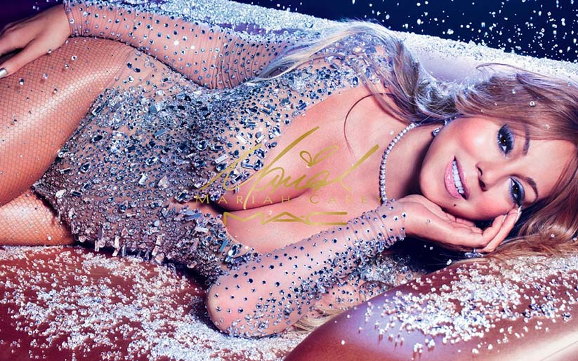Mac & Mariah carey collabore pour une gamme maquillage qui brille