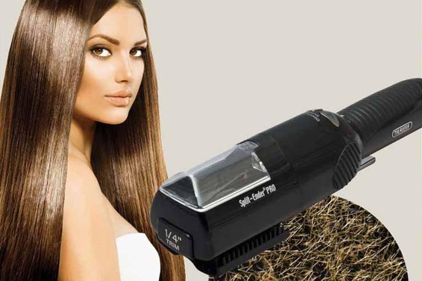 Split ender solution anti fourches la loge beaut blog for Coupe pointes cheveux machine