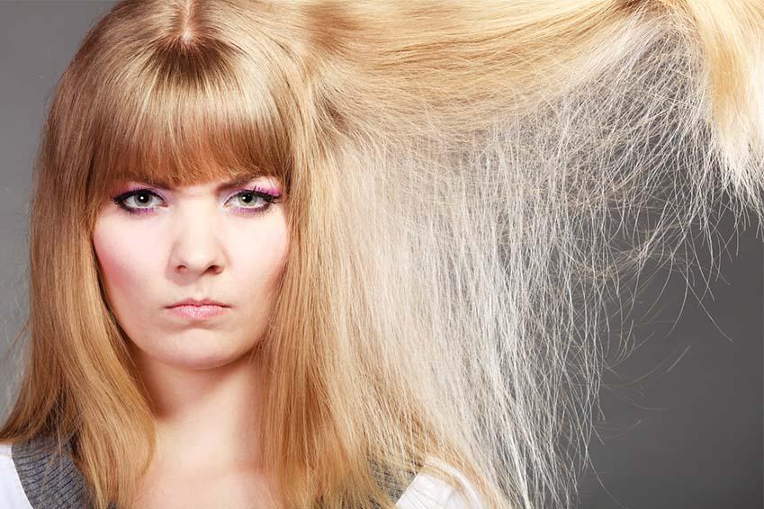 Stp aux cheveux électriques
