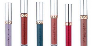 Six nouvelles teints des Liquid Lipstick d'Anastasia Beverly Hills