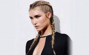 Coiffures pour cheveux gras : Boxer Braids ou tresses cornow