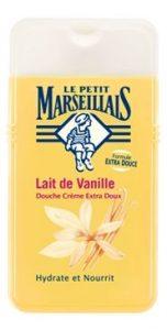 Les cosmétiques les plus vendus en France : le lait de vanille Le Petit Marseillais
