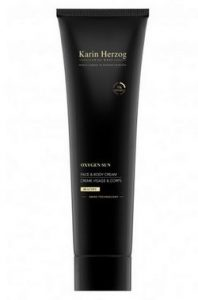 Soins à l'oxygène : Crème accélératrice de bronzage de Karine Herzog