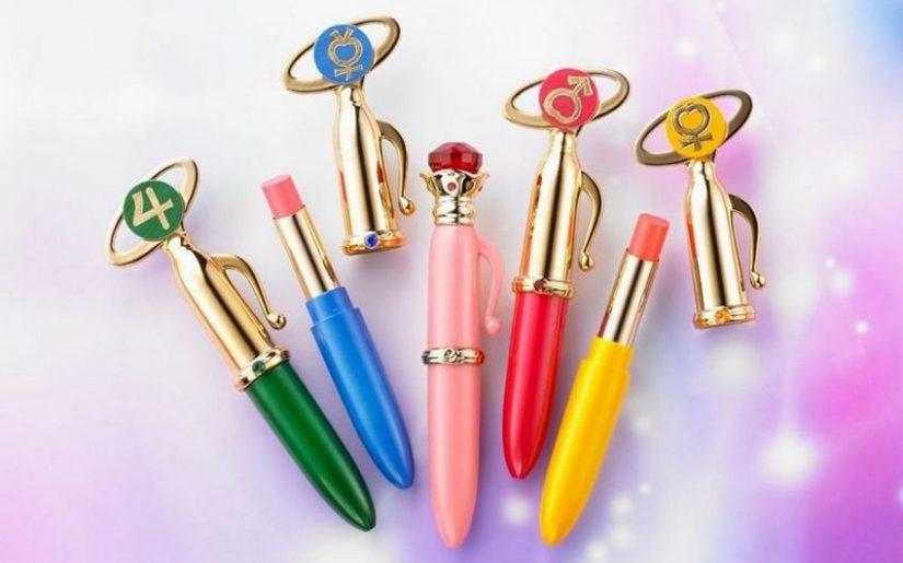 gamme de rouges à lèvres Sailor Moon