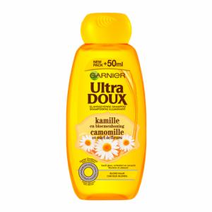 Les cosmétiques les plus vendus en France : shampoing ultra doux à la camomille de Garnier