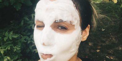 test du bubble mask de Sephora dans la loge beauté
