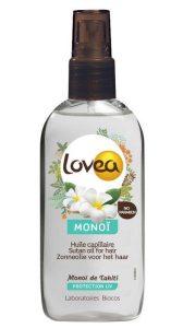 indispensables beauté pour les vacances: spray capillaire de protection Lovea