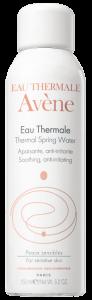 indispensables beauté pour les vacances: brume eau thermale Avene