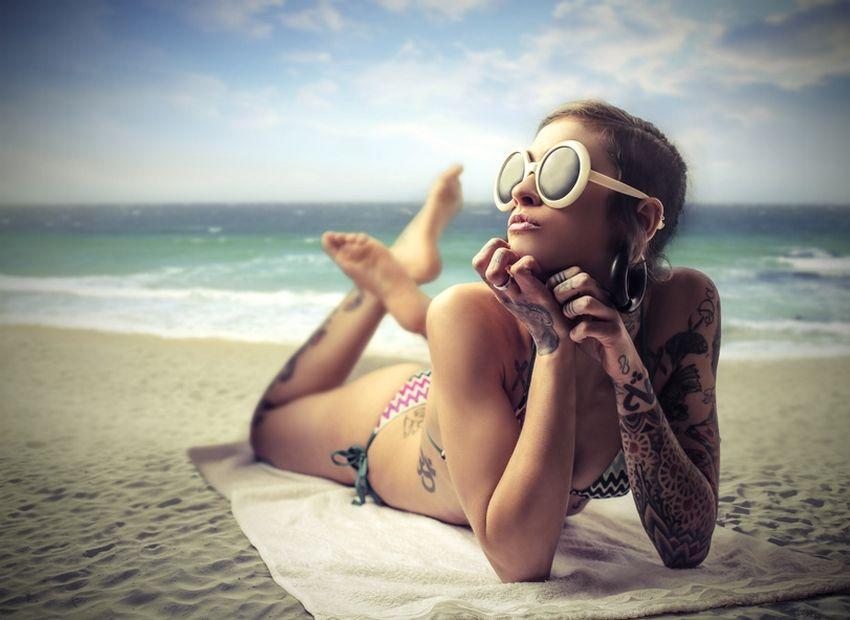 Protéger son tatouage du soleil