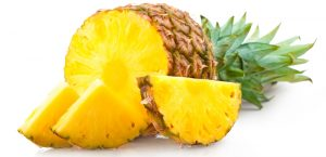 enlever les tâches brunes avec l'ananas