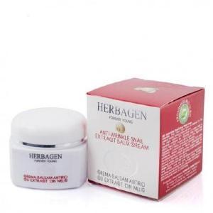 Cosmétiques insolites : Crème visage anti-âge Herbagen