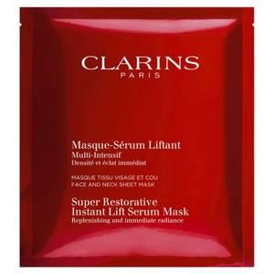 nouveaux Sérums de la Rentrée 2017/2018 : Masque-Sérum Liftant Multi-Intensif de Clarins