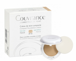 fonds de teint pour peaux sensibles : Couvrance Crème de teint compact d'Avène