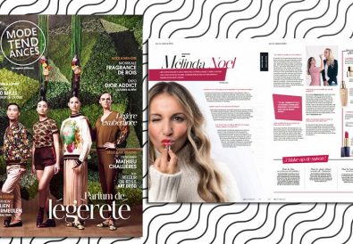Interview de Mélinda dans Mode Tendance