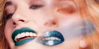 rouge à lèvres pailleté Ciaté
